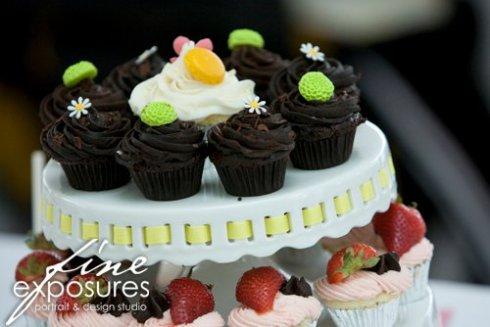 mon petit cupcake dessert buffet