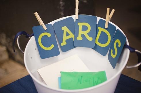 wedding card bucket
