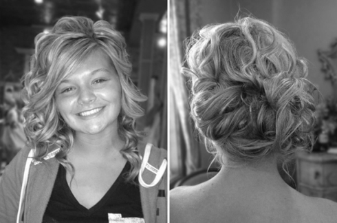 curl wedding hairstyles half up updo