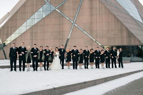 mcnamara winter wedding minneapolis mn