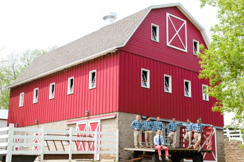 mn barn wedding